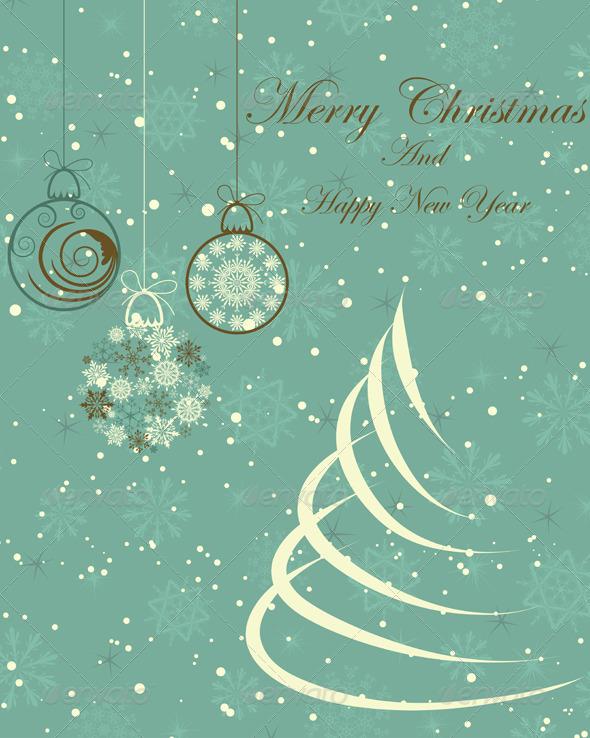 GraphicRiver Christmas Card 3533591