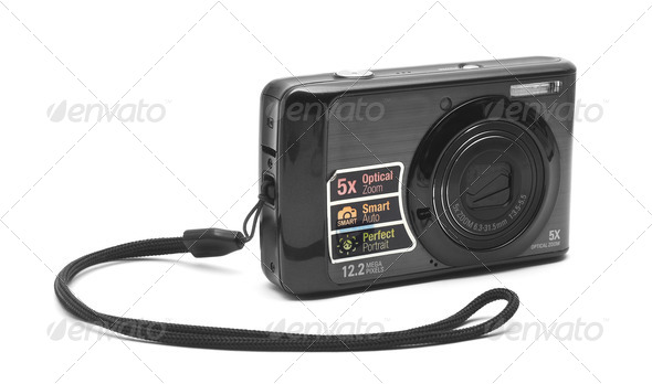 pocket camera - Stock Photo - Images