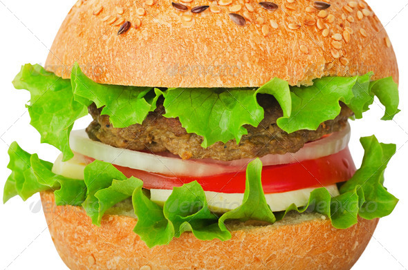 hamburger - Stock Photo - Images