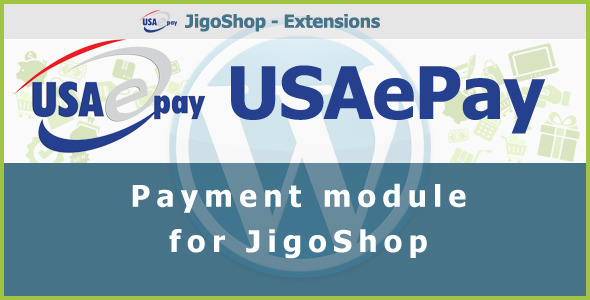 USAePay Payment Gateway for JigoShop - CodeCanyon Item for Sale