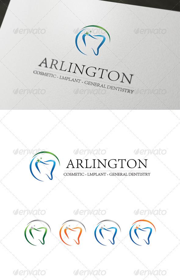 GraphicRiver Arlington teeth logo 3534599