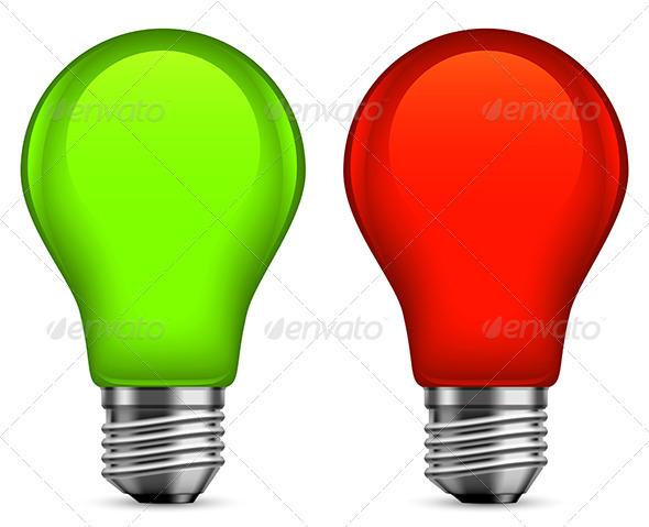 GraphicRiver Light Bulbs 3534907