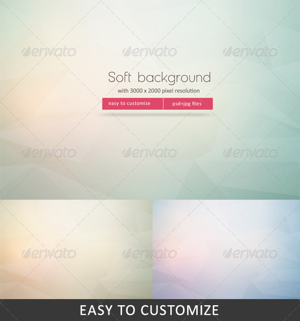 GraphicRiver Soft Background 3534911