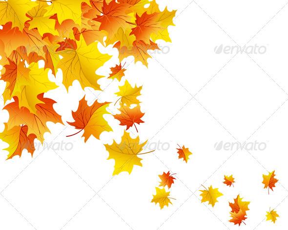 GraphicRiver Autumn Background 3535071