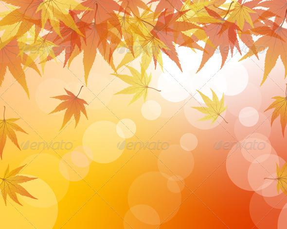 GraphicRiver Autumn Background 3535084