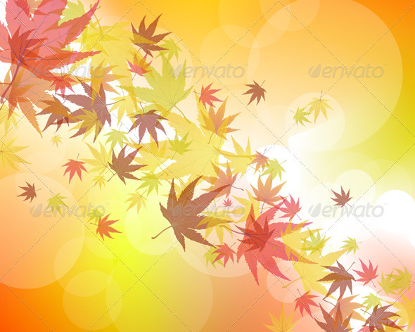 GraphicRiver Autumn Background 3535085