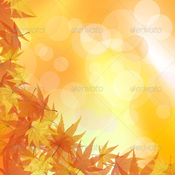 GraphicRiver Autumn Background 3535088
