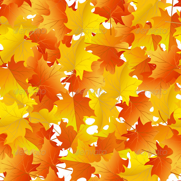 GraphicRiver Autumn Seamless 3535230