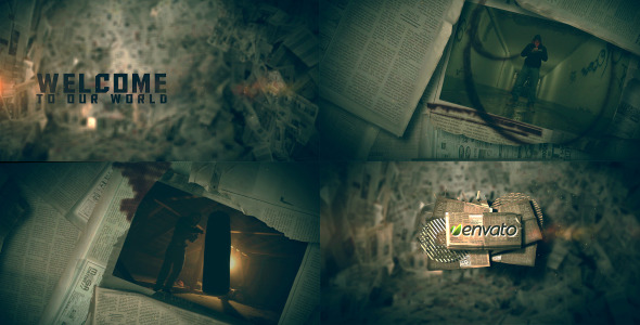 VideoHive Newspapers Intro 3458747