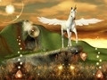 Pegasus over an Hill - PhotoDune Item for Sale