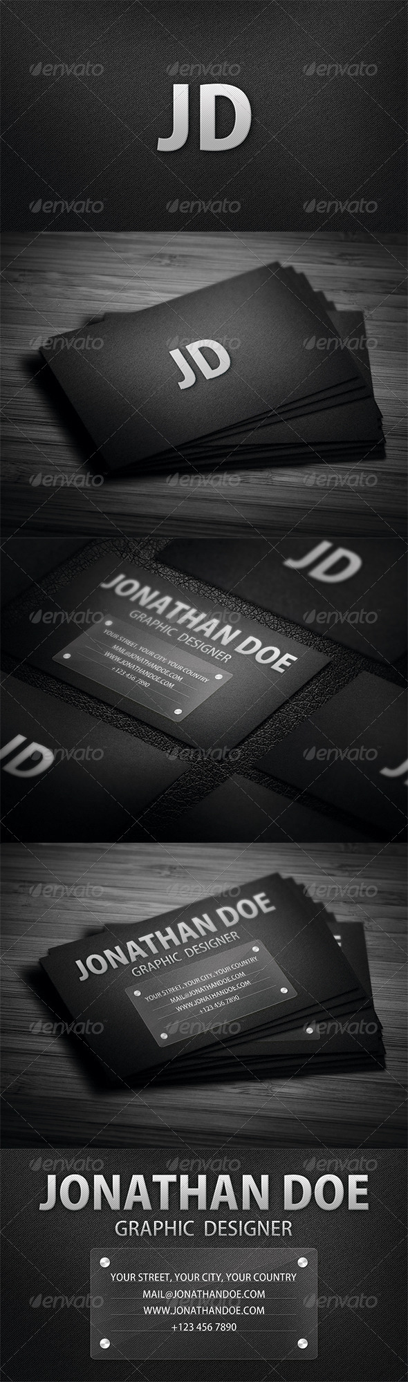 GraphicRiver Fabric Style Business Card 3505333