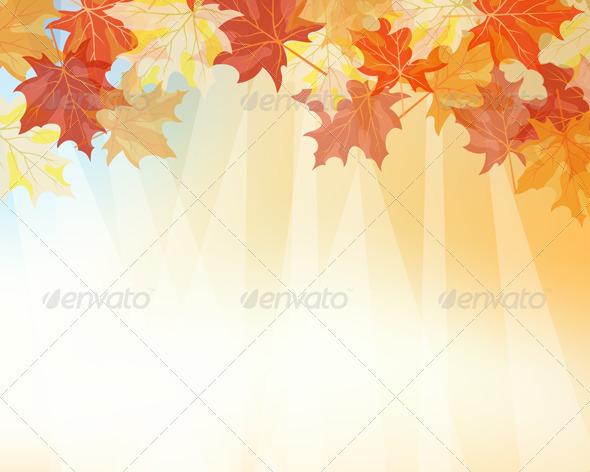 GraphicRiver Autumn Maples 3536310