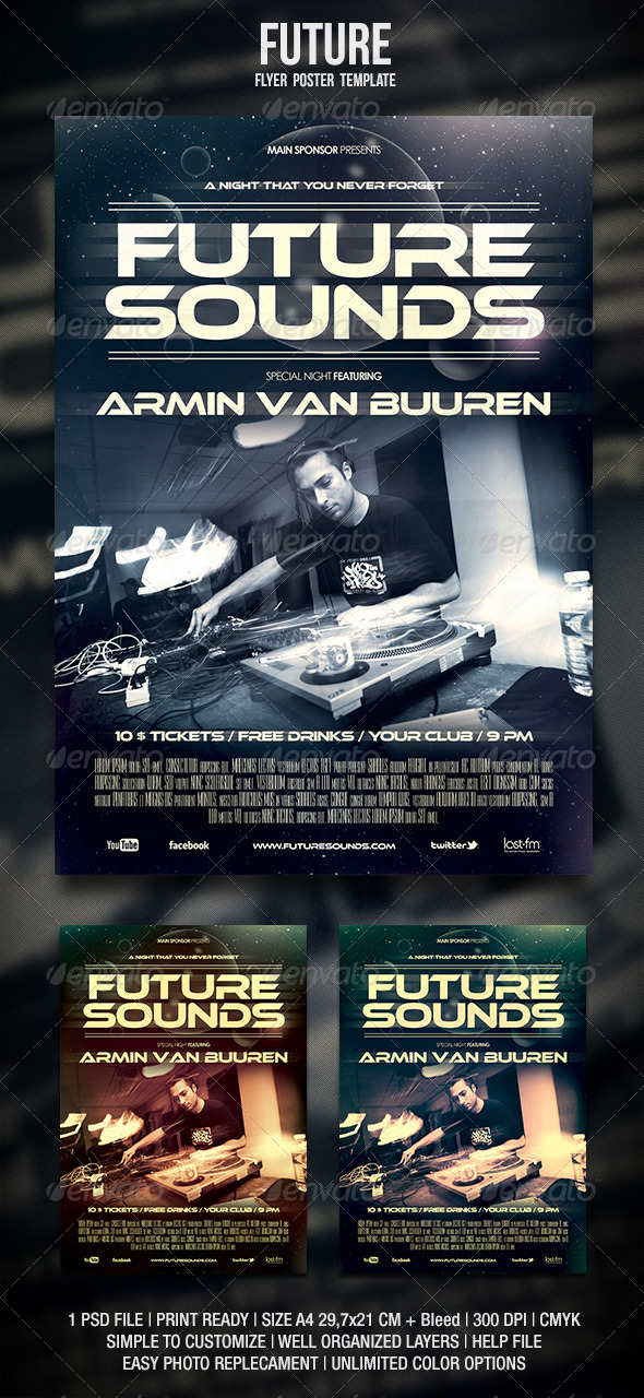 GraphicRiver Future Flyer Poster 3536673