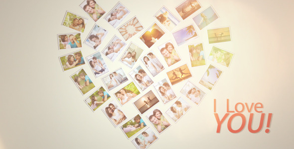 VideoHive Happy Love Frames 3514828