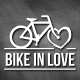 Bike In Love Logo - GraphicRiver Item for Sale