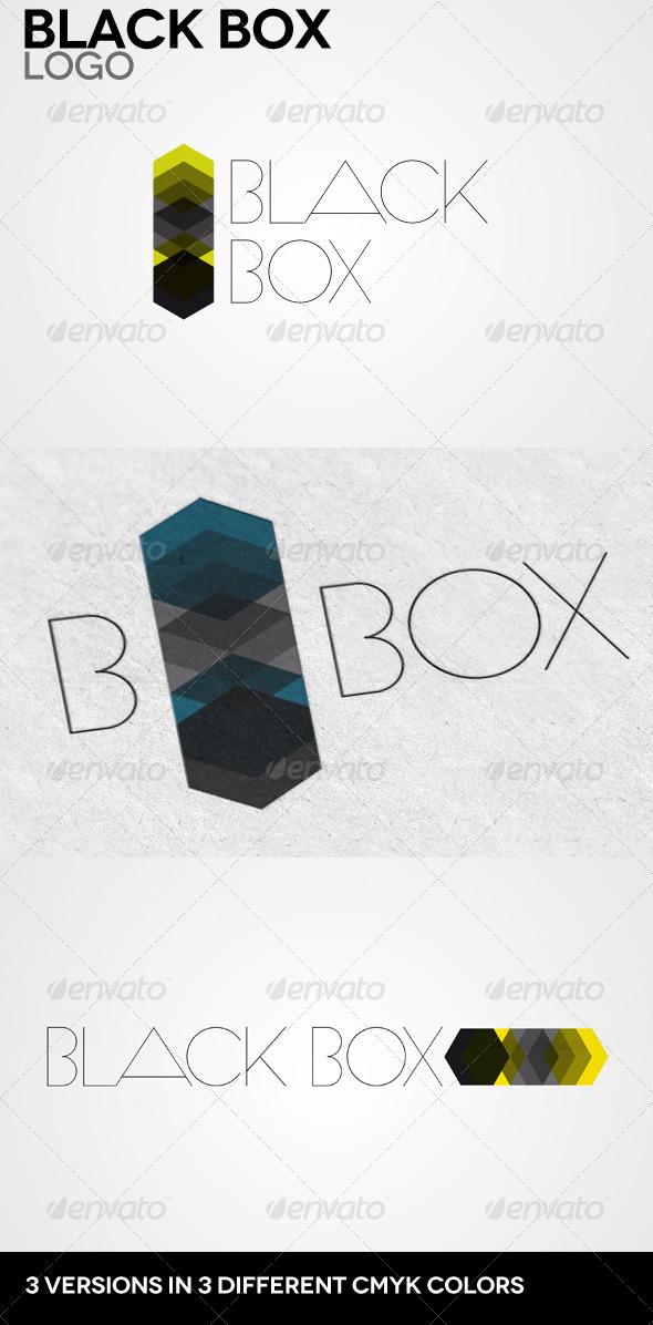 GraphicRiver Black Box Logo 3537364