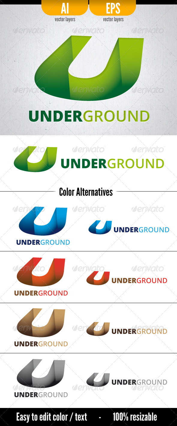 GraphicRiver Underground 3537418