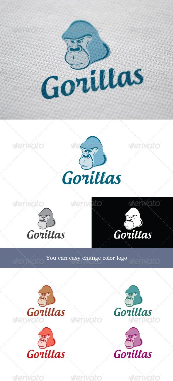 GraphicRiver Gorillas 3511467