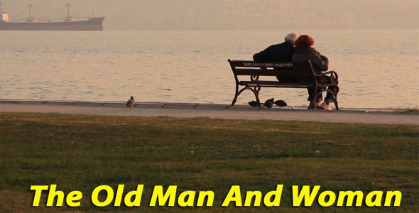 [VideoHive 3537626] Old man and woman | Stock Footage