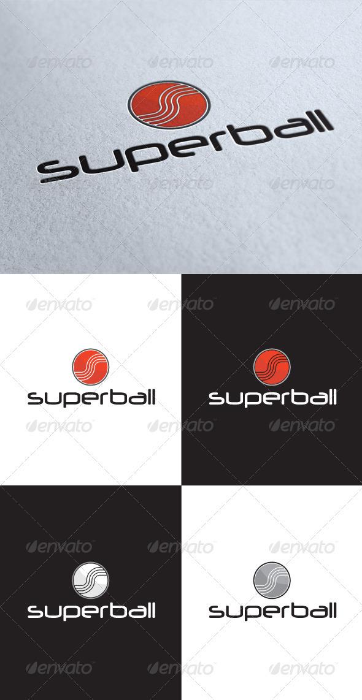 GraphicRiver Superball Logo 3537730