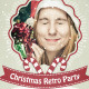 Christmas Retro Party Flyer - GraphicRiver Item for Sale
