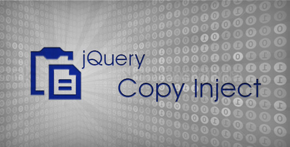 CodeCanyon jQuery Copy Inject 3537749