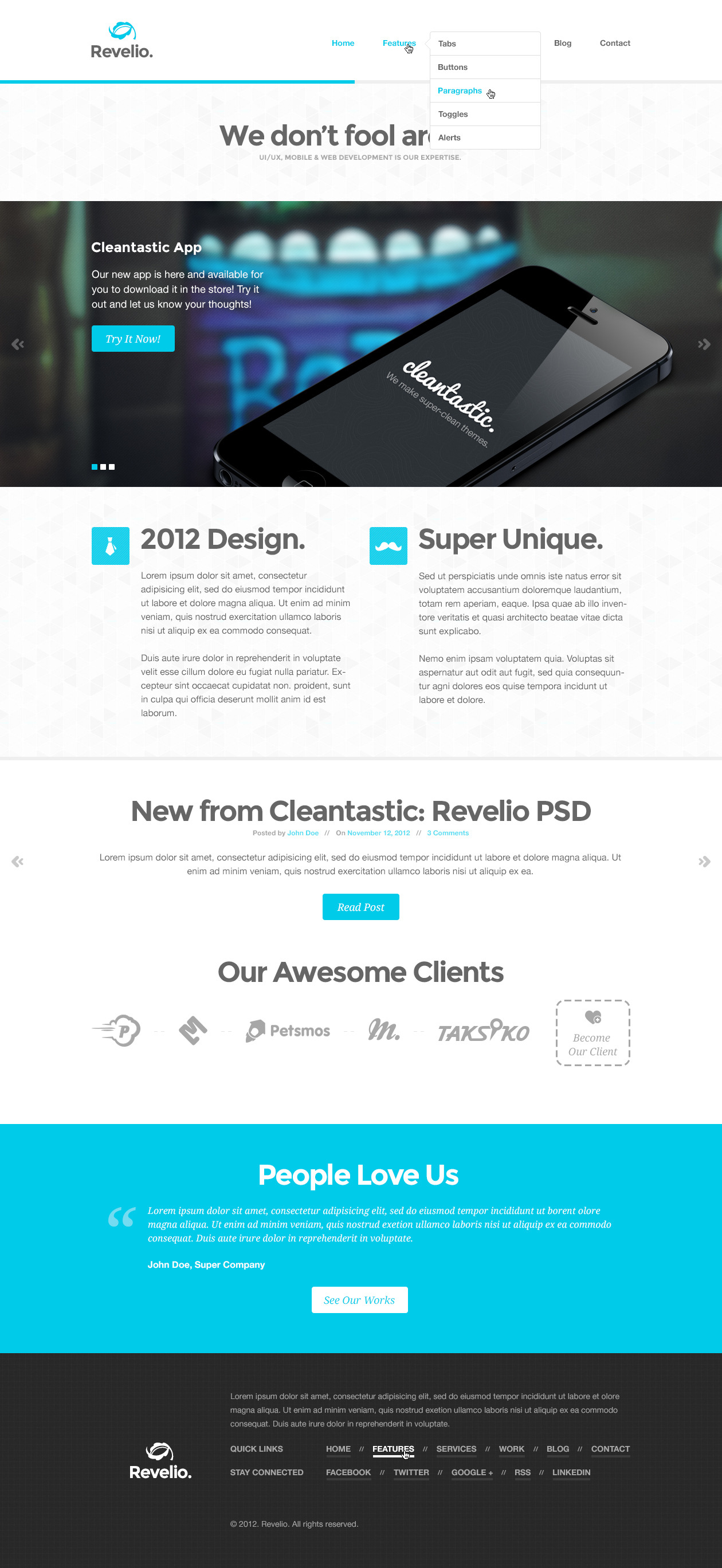 Revelio - Super Unique Multipurpose Theme