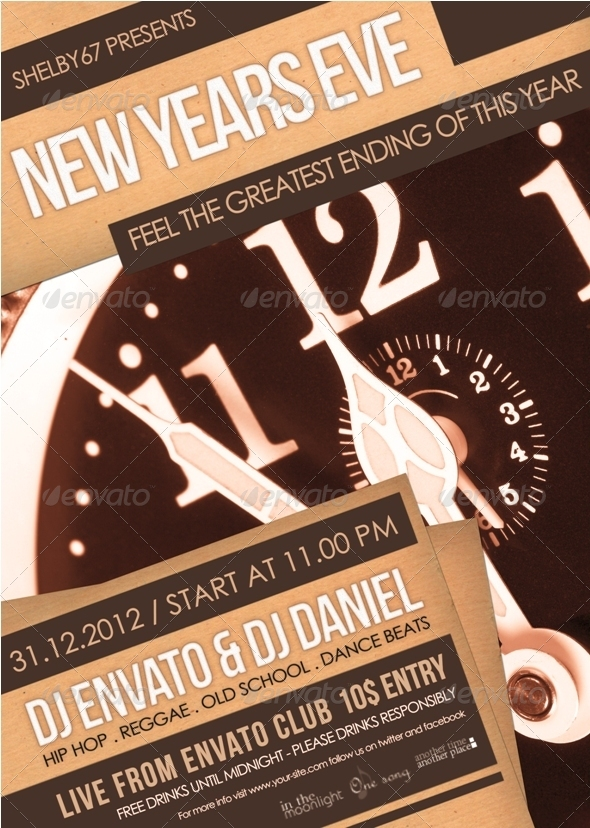 New Years Eve Flyer / Poster