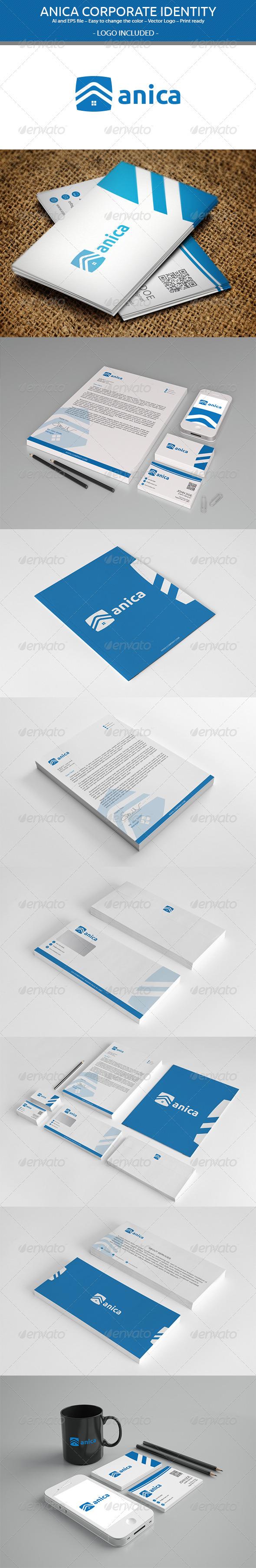 GraphicRiver Anica Corporate Identity 3538424