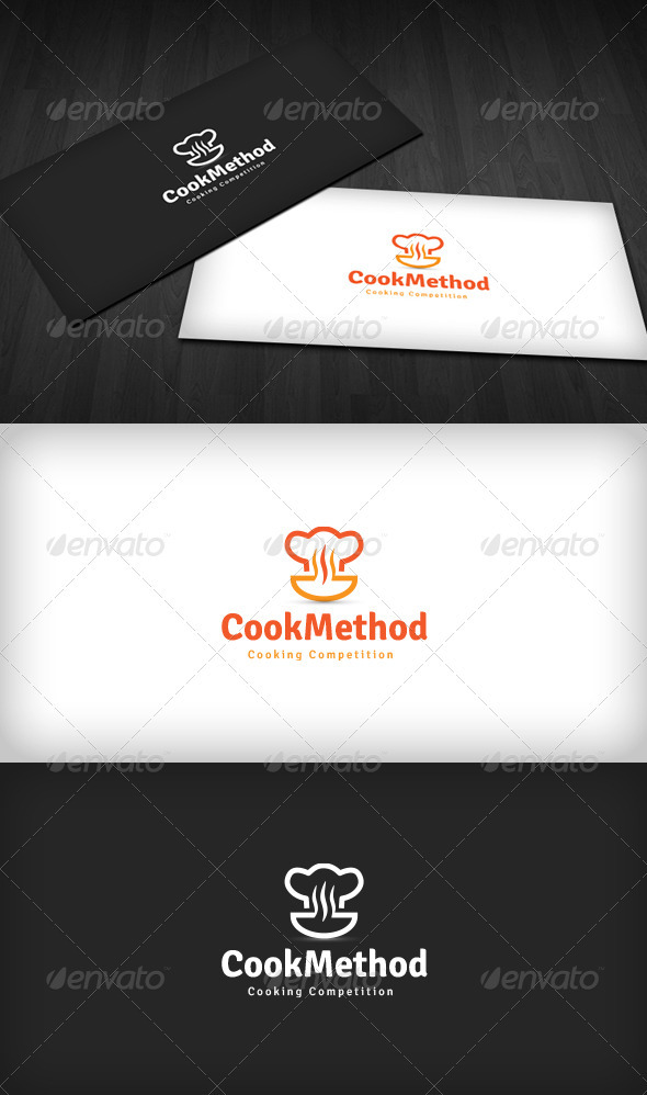 GraphicRiver Cooking Competition Logo 3538545