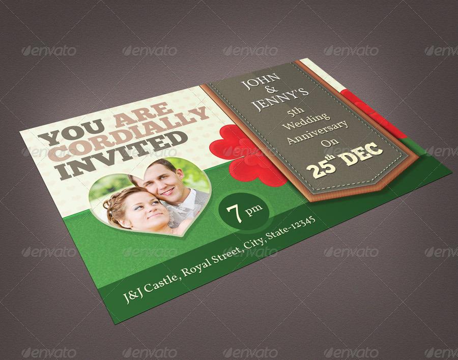 Invitation Postcard/Flyer