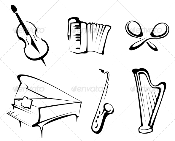 GraphicRiver Musical Instruments 3538602