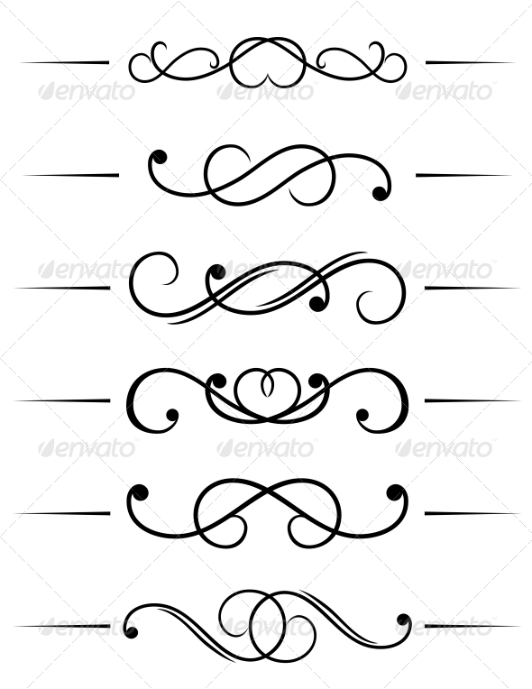 GraphicRiver Swirl Elements 3538626