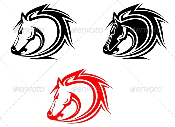 GraphicRiver Horses 3539019