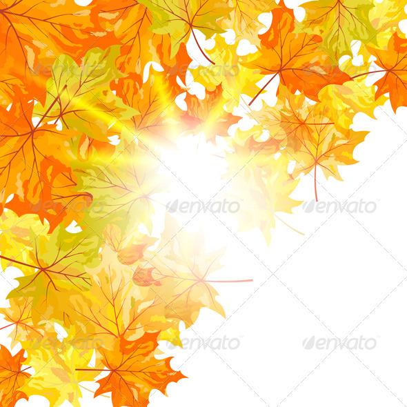 GraphicRiver Autumn Background 3539101