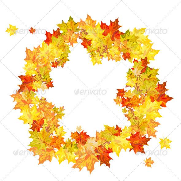 GraphicRiver Autumn Background 3539116