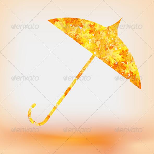 GraphicRiver Maple Umbrella 3539139