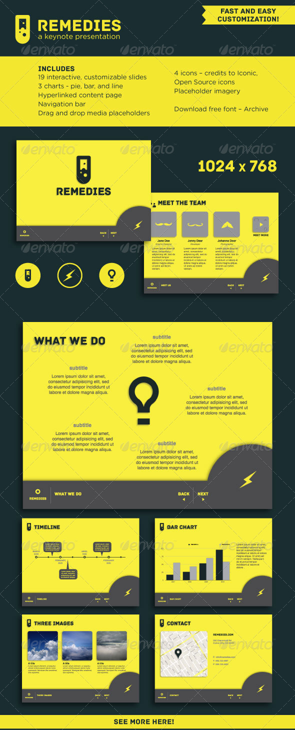 GraphicRiver Remedies A Keynote Template 3539429