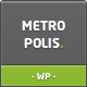 Metropolis - Ajax & Premium WP Theme for Creative - ThemeForest Item for Sale
