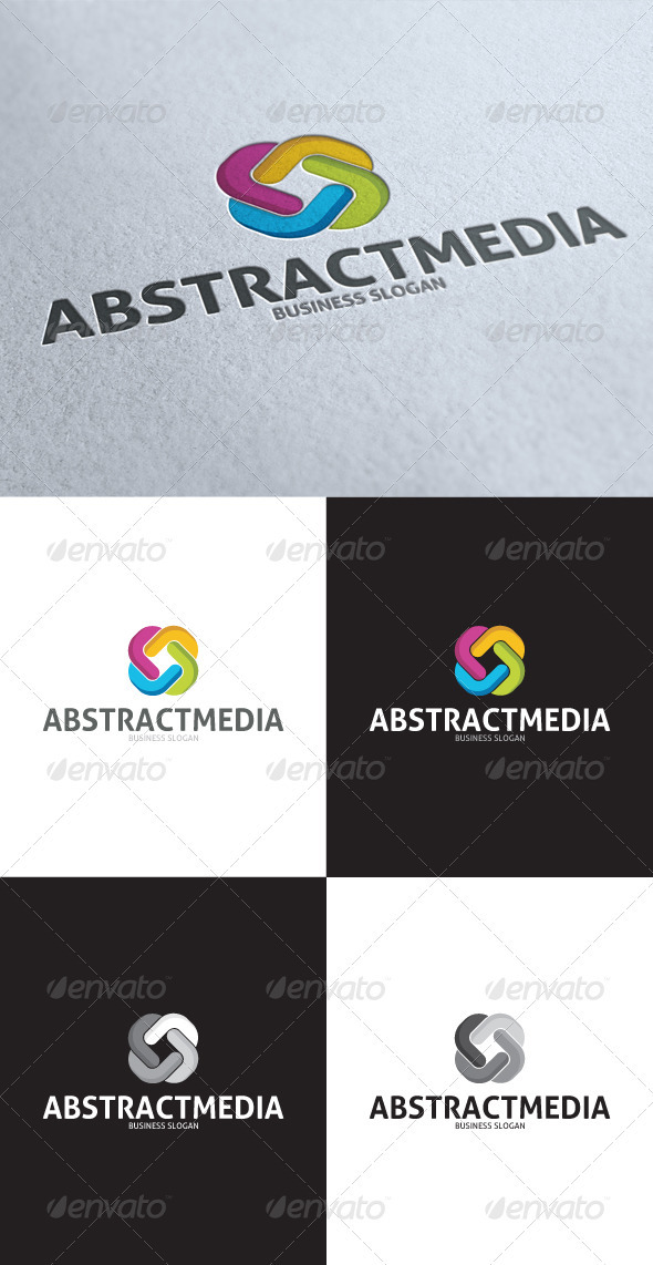 GraphicRiver Abstract Media Endless Logo 3539832