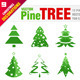 12 Pine Trees - GraphicRiver Item for Sale