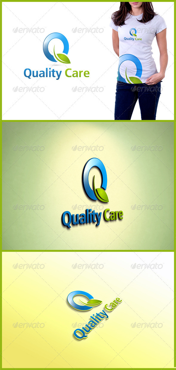 Quality Care - Letters Logo Templates