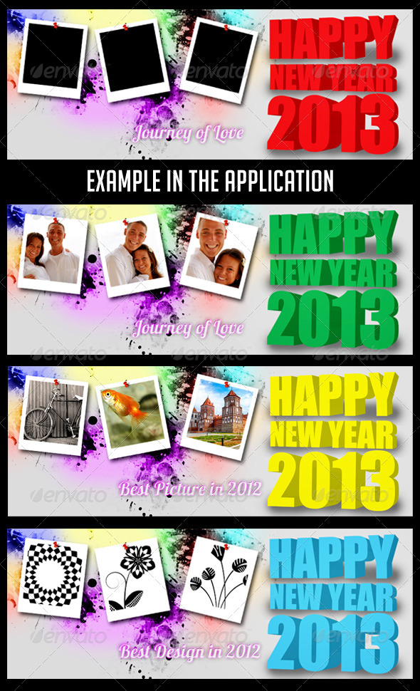 GraphicRiver Happy New Year 2013 FB Timeline Cover 3540528