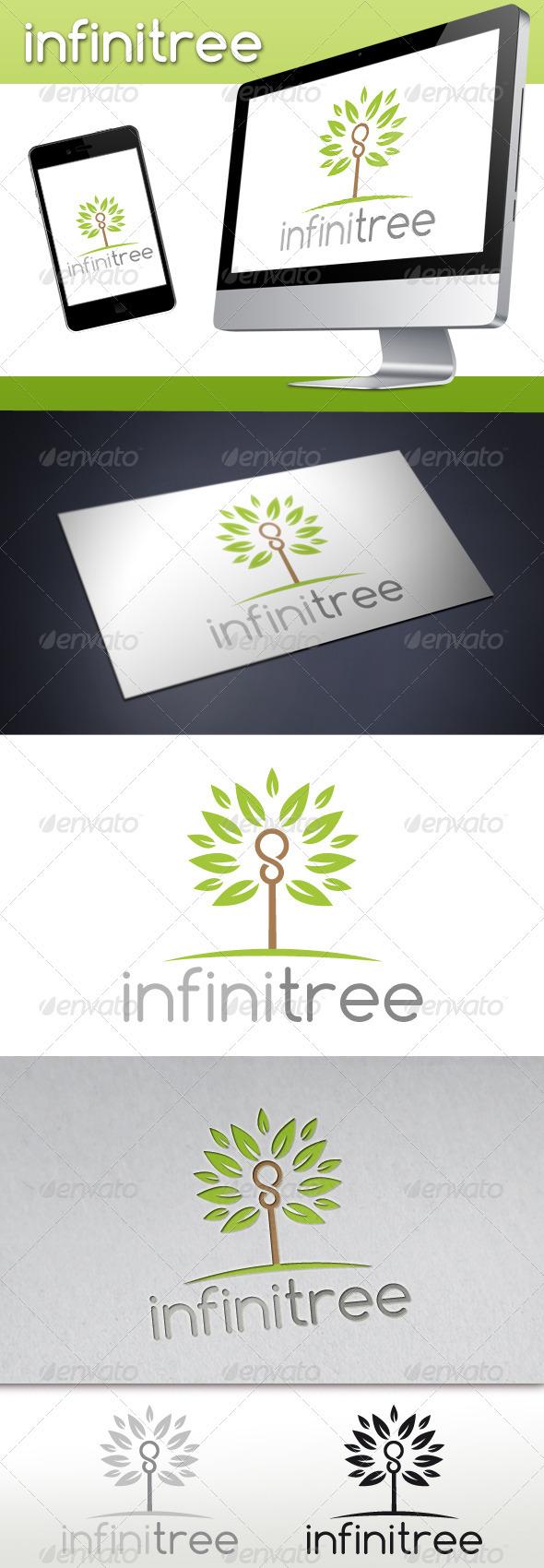 GraphicRiver Infinite Tree Logo 3534555