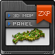 3D Map Generator Pro - Easy Panel - GraphicRiver Item for Sale