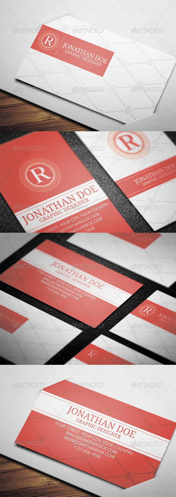 GraphicRiver Creative Business Card N4 3540937