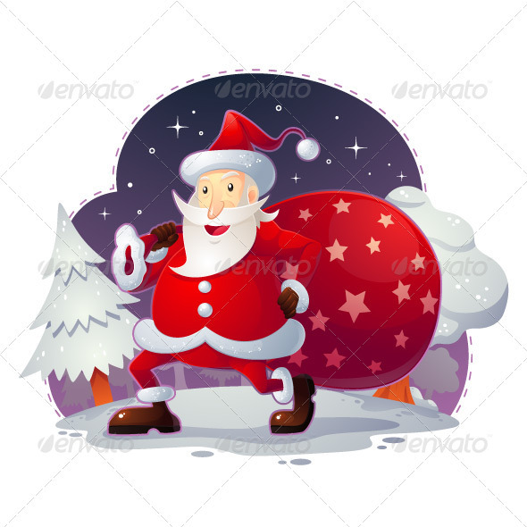 GraphicRiver Santa Claus 3541247