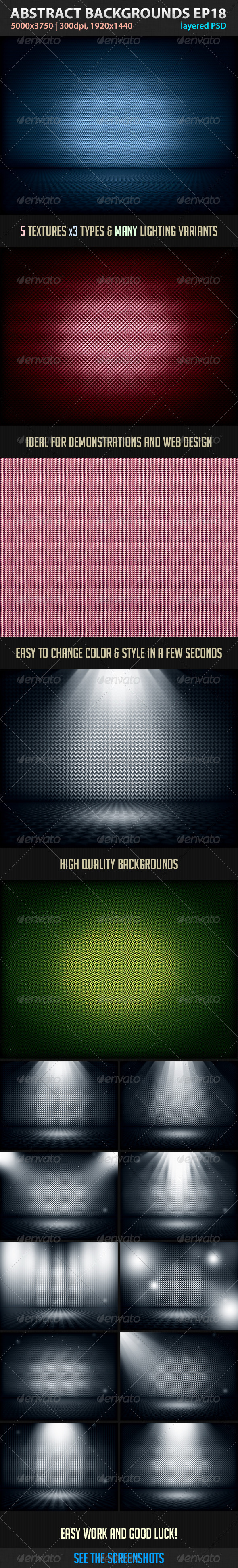 GraphicRiver Absctract Backgrounds EP 18 3541253