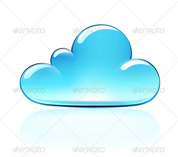 GraphicRiver Internet Cloud Icon 3541787