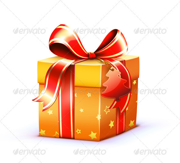 Present Box - Christmas Seasons/Holidays